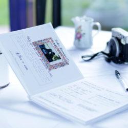 Gästebuch mit individuellen Seiten