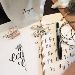 Lettering-Projekt