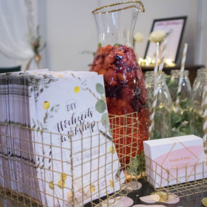 Flyer von unseren DIY-Hochzeitsworkshops