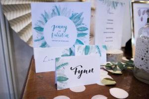 Beispiel eines Hochzeits-Designs